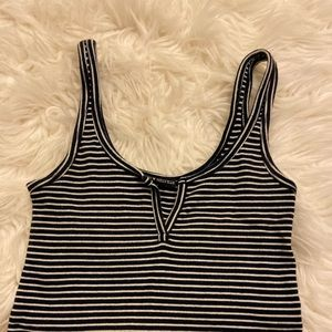Black and white Brandy Melville top